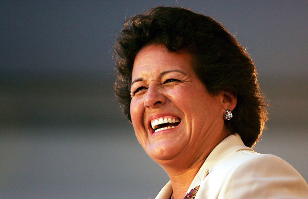"1. Nancy Lopez                       	Likeability is usually associated with losers — Miss Congeniality, anyone? — but Lopez conquered golf with a jerry-rigged swing and a dazzling smile. And she came along in the seventies, when the LPGA desperately needed an appealing star. Like Arnold Palmer, Lopez commanded the biggest galleries and made headlines whether she won or lost. ""Nancy didn't just arrive on the tour, she burst upon it,"" writes golf historian Rhonda Glenn. ""She had more pure charisma than any player since the Babe, and the game to go with it.""More Photos:                                              • Natalie Gulbis at Fashion Week                        • Top 10 PGA Tour Personalities                        • Glamour Shots of LPGA's Biggest Stars"