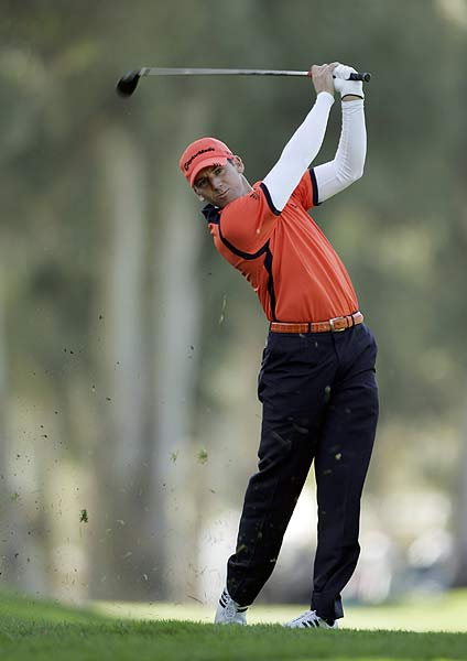 Three bogeys on the back nine put Sergio Garcia at three over par after the first round.