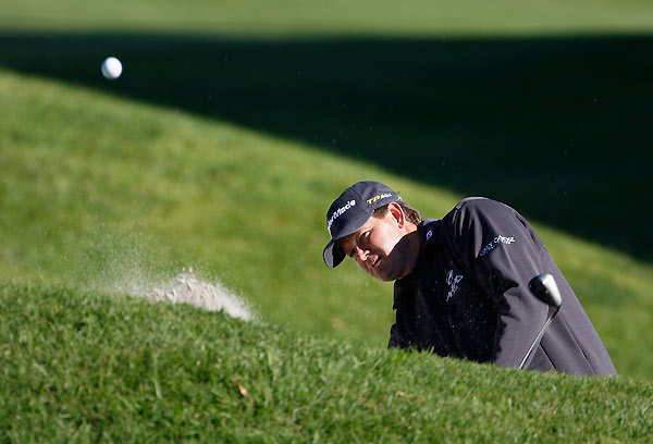 Two-time U.S. Open champ Retief Goosen finished with the second-worst score in the field after rounds of 79-77. Steve Lowery, last week's winner at Pebble Beach, was one short worse than Goosen.
