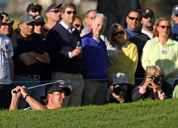 Second Round of the Northern Trust Open                     Phil Mickelson leads by four after a seven-under 64.