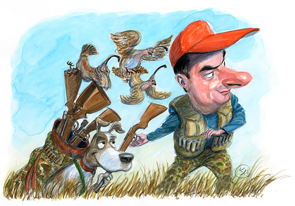 That Dog Will Hunt: December 2003                                                               Column: David goes on his first quail hunt and discovers that hunting and golf have a lot in common. Read it.