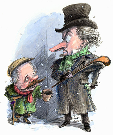Get Scrooged: December 2005                                                               Column: A curmudgeonly David discovers the spirit of Christmas after writing a few verses of holiday jeer. Read it.