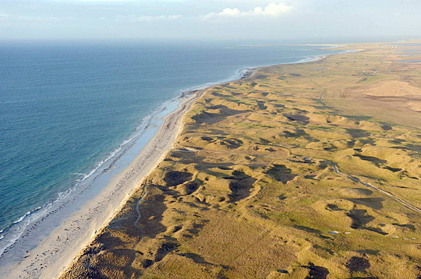 "In 1891, when Old Tom Morris first walked this machair on the Atlantic side of the Hebridean island of South Uist, he needed only one word to describe it: ""Staggering."""