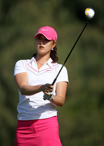Big Play                     By Brad Redding                                          Who: Michelle Wie                     What: A sliced three-wood tee shot into a water hazard                     Where: 396-yard par-4 11th hole at Turtle Bay                     When: Final round of the SBS Open                                          Why: Wie's water ball was caused by bad timing, but her back-nine meltdown won't hurt her psyche or slow her progress. She's simply going through the learning-to-win process that she never had as a youngster because she skipped junior golf, which is when most prodigies hone that skill.                                          Close calls like last week's are building blocks that, along with her Mickey Wright-like swing and monster distance, will turn Wie into one of the most dominant players in history.