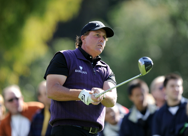 Phil Mickelson had his worst round of the week on Saturday, a 3-over 74.