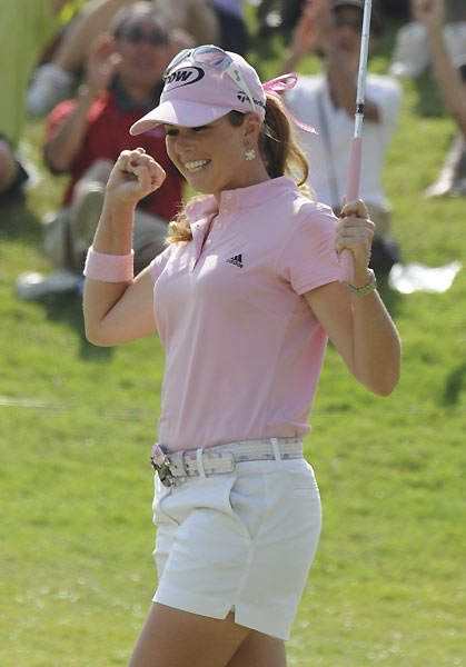 Final Round of the Fields Open in Hawaii                       Paula Creamer birdied four of the final five holes to beat Jeong Jang by one.