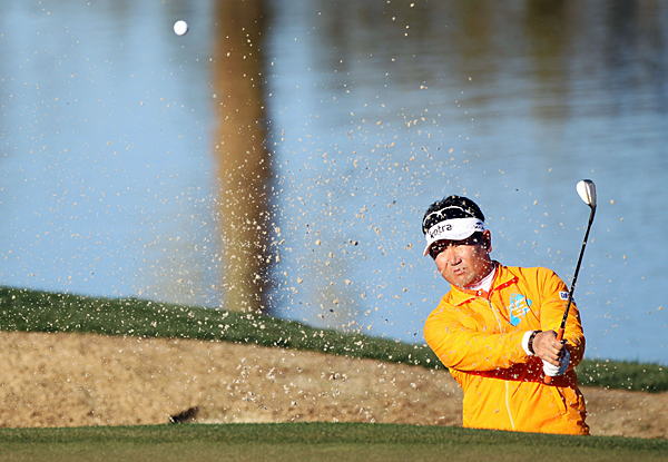 Y.E. Yang made a birdie on the 20th hole to defeat Alvaro Quiros.