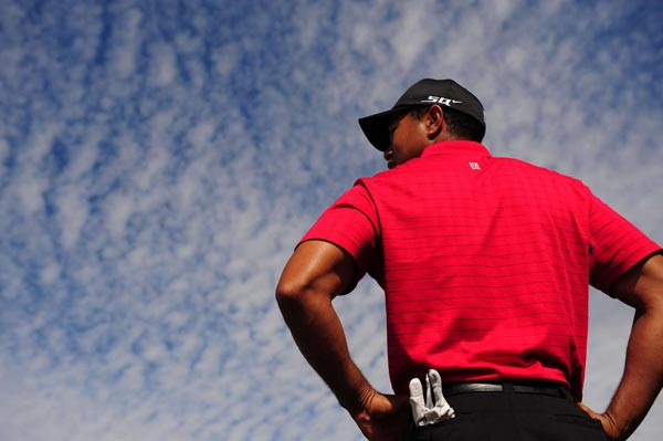 """Woods didn't so much as crack a smile when someone asked him if a perfect season was within reach. """"That's my intent,"""" he said. """"That's why you play. It you don't believe you can win an event, don't show up."""""""