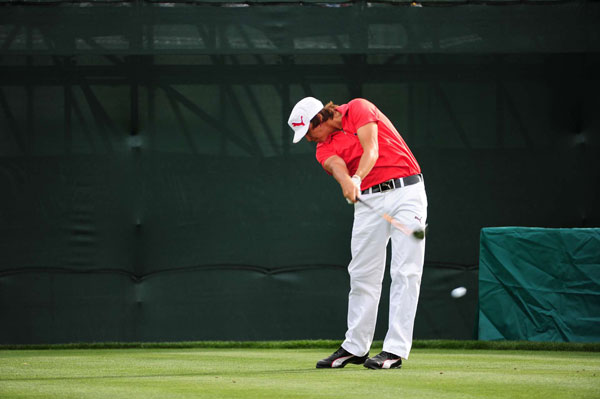 finished one shot off the lead after a four-under 67.