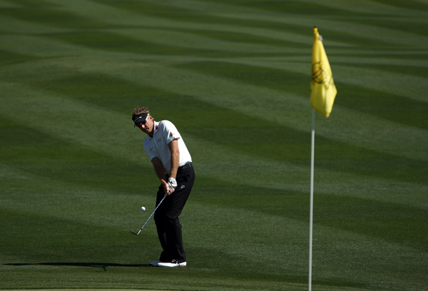 Ian Poulter won the first two holes, but he made only one birdie the rest of the match and lost 2 and 1 to Sean O'Hair.