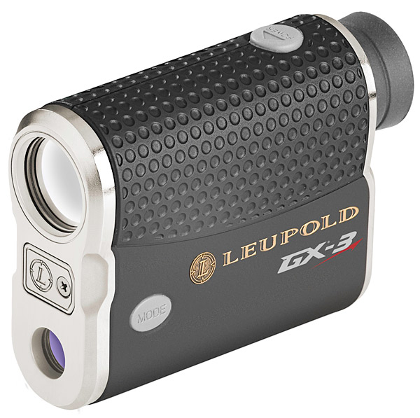 "Leupold GX-3 Rangefinder                       $400, golf.leupold.com                       The GX-3 may look like your dad's rangefinder, but it's fully loaded from eyepiece to lens with an assortment of pin-seeking goodies. Leupold's compact laser can accurately pinpoint a target as far away as 800 yards (in case you're playing one of those pesky par 8s), and its fog mode can cut through weather that might disrupt satellite GPS systems. The GX-3 also features a ""scan mode"" that lets you take multiple readings without resetting, and, most importantly, it's tournament legal, so you won't ever have to leave it at home."