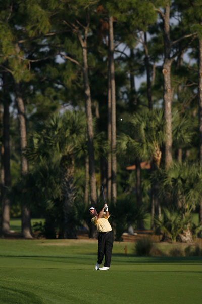 Joe Durant shot a one-under 69 to finish at three under.