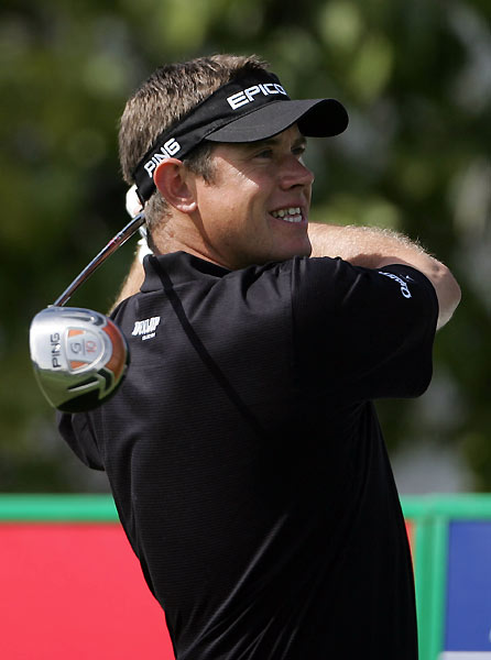 Lee Westwood birdied 17 and 18 to finish three shots back.
