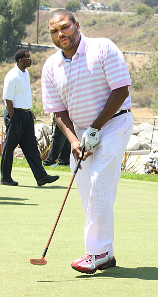 "Actor/Comedian Anthony Anderson hosts the Golf Channel's ""Golf In America""."