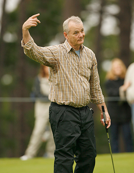 Comedian Bill Murray has been a mainstay at the Pebble Beach Pro-Am for years.