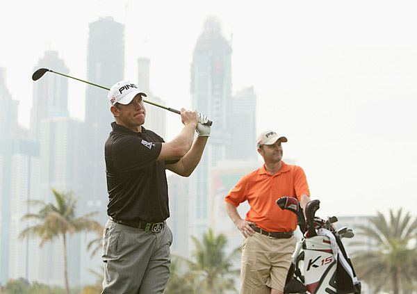 Lee Westwood is trying to rebound from his missed cut last week at the Qatar Masters.