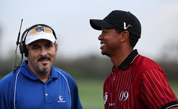 """I think I would be upset. It was mean-spirited and not particularly funny.""                       --David Feherty on Tiger Woods' reaction to Dan Jenkins' fake Tiger interview."