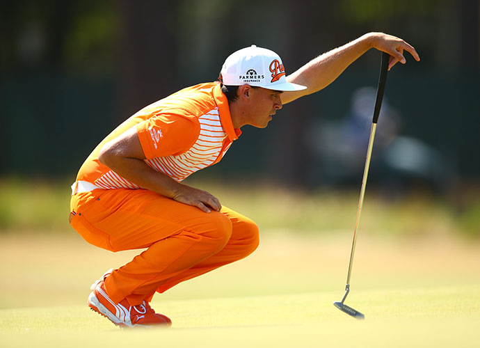 """Fowler shot an even-par 72 on Sunday, failing to gain any ground on Kaymer. """"Martin was playing his own tournament,"""" Fowler said."""