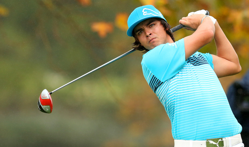 Rickie Fowler recovered from an early double bogey to shoot a two-under 70.