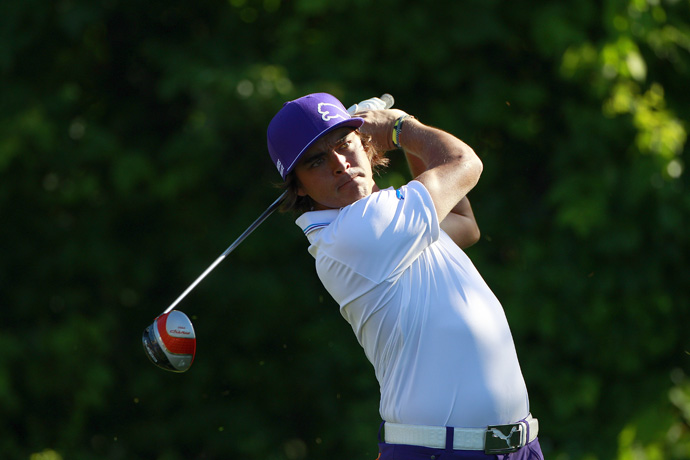 Rickie Fowler also opened with a 72.