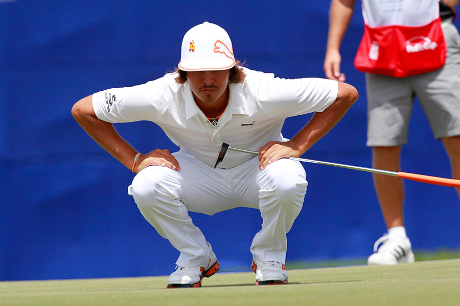 Rickie Fowler shot a seven-under 65 to move into contention.