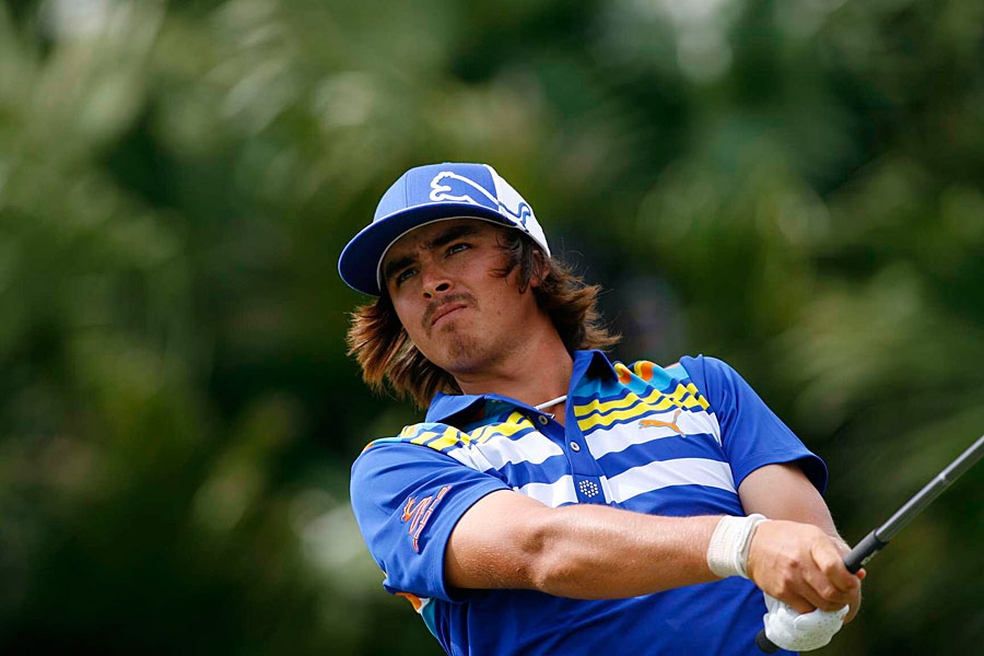 After a 74 on Thursday, Rickie Fowler got back to even par with a two-under 70.