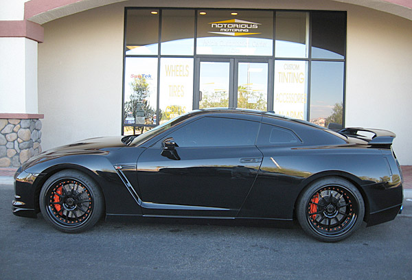 Rickie Fowler                     Dirt bike enthusiast and 2010 PGA Tour rookie of the year Rickie Fowler has a Nissan GT-R that he had customized at Notorious Motoring.