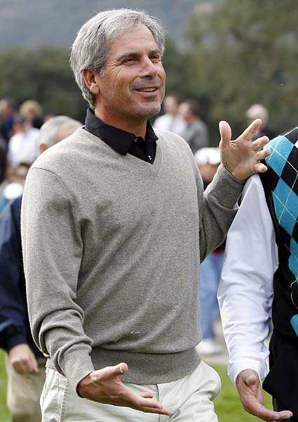 Fred Couples drove up to watch his pal Tiger Woods and Graeme McDowell face off in the final round of the Chevron World Challenge golf tournament in Thousand Oaks, Calif., on Dec. 5, 2010. McDowell won the event in a playoff.