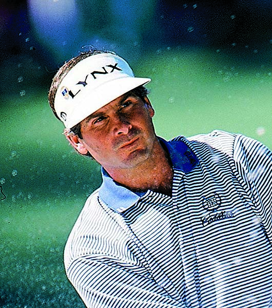 Fred Couples at the 1998 Masters, where he finished T2 behind Mark O'Meara. Couples has finished in the top 10 at Augusta 13 times.