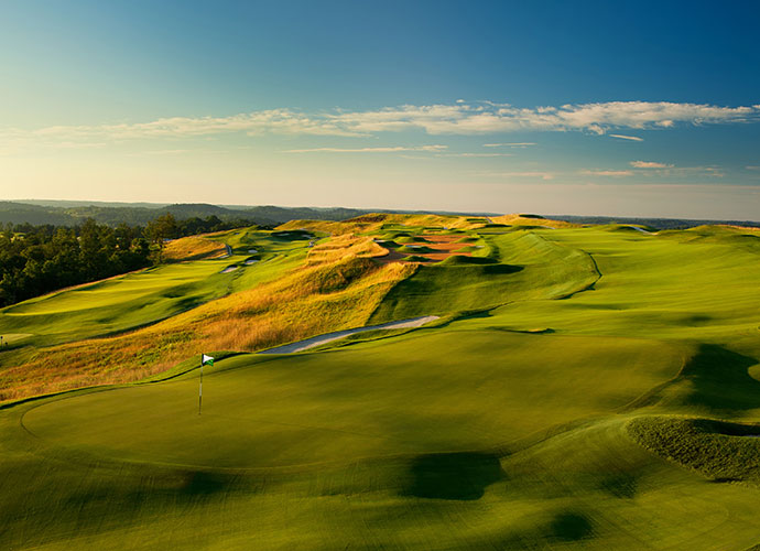 70. French Lick Resort (Pete Dye) French Lick, Ind.; Pete Dye (2009) -- $350-$380, frenchlick.com