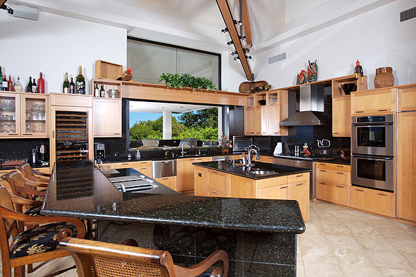 The kitchen has plenty of room to work and a bar for casual dining. The house has lots of wide open areas to enjoy the views.                       More Golf Home Photos                       • Phil Mickelson's Rancho Santa Fe estate                       • Greg Norman's Jupiter Island compound                       • $18.8 million house in Northern California                       • $45 million estate with private course                       • $100 million spread in Lake Tahoe