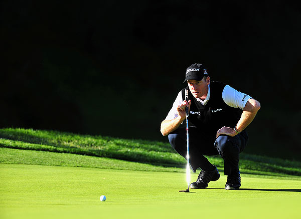 Jim Furyk is also at five under par after a bogey-free 66.