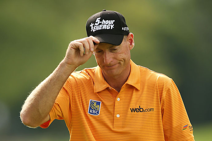 """Sometimes when I dislike the guy I'm playing, and it doesn't happen that often, but if I really don't like the guy I'm playing, sometimes it's more difficult because I want to beat him so bad, I find myself trying so hard.""                       --Jim Furyk on why it's sometimes harder to play against someone you don't like."
