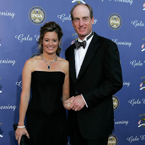 Tabitha Furyk, with husband Jim Furyk.                                              VOTE HERE: CLICK HERE TO VOTE FOR THE HOTTEST WOMAN AND SEE WHAT OTHERS THOUGHT