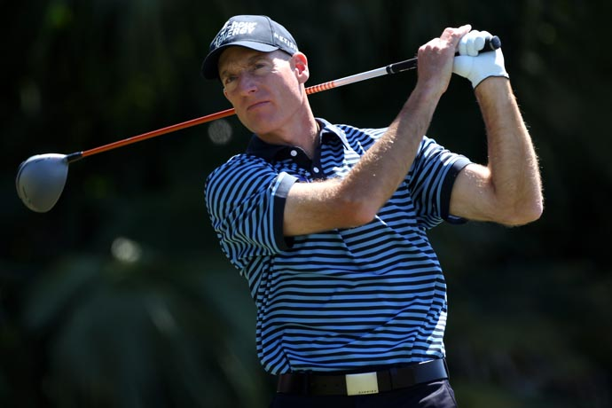 """You've got options. Some guys are going to go to a sports psychologist. Some guys are going to go to the bar.""                       --Jim Furyk on dealing with mental mistakes on the golf course."