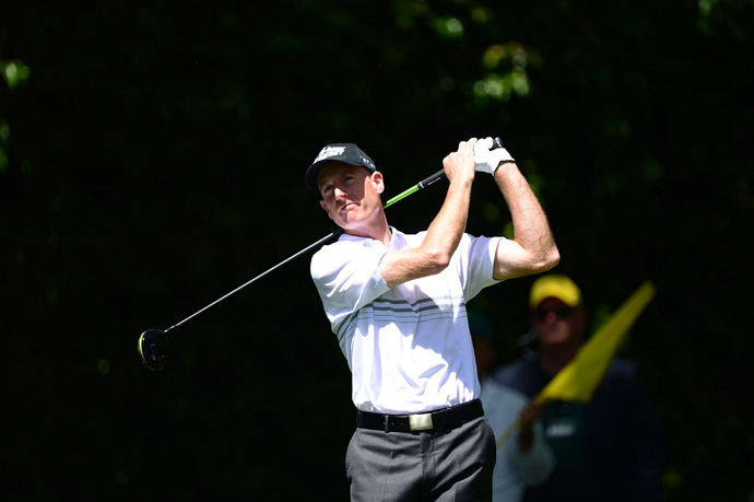 Jim Furyk shot a two-over 74.