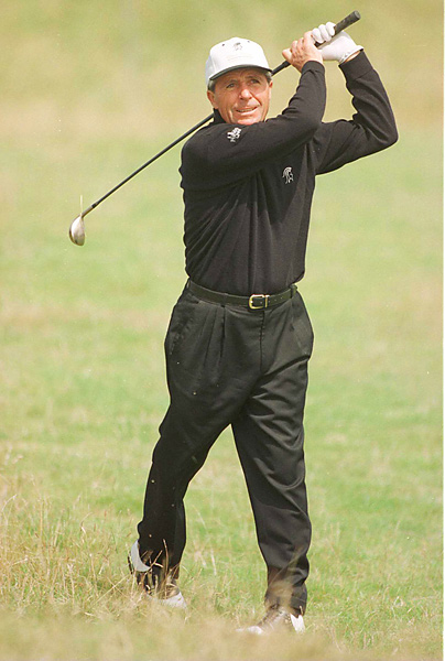 Player won the 1997 Senior British Open in a playoff for his final major championship victory on the senior circuit and ninth overall.