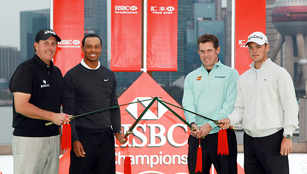 Phil Mickelson, Tiger Woods, Lee Westwood and Martin Kaymer each have a chance to take over the No. 1 ranking this week.