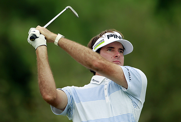 Bubba Watson shot a 70 and will take a one-shot lead into Monday's final round.