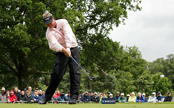 had hopes for his first victory in Europe in nearly two years, but he faded soon after the start and finished with a 76.