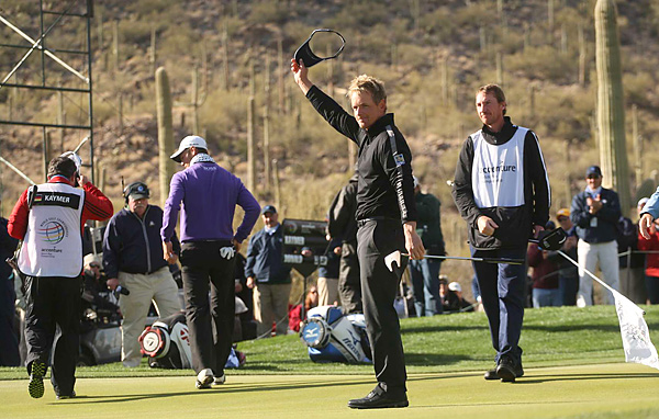 Luke Donald earned his first win in America in five years, and it was only his second win worldwide since he captured the 2006 Honda Classic.