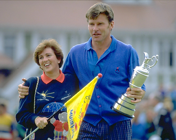 Faldo and Bennett were married in 1986 and had three children together before divorcing in 1995, when Faldo began a relationship with 20-year-old golfing student Brenna Cepelak.
