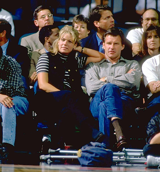Cepalak (shown here with Faldo at a Miami Heat game) is technically not an 80s WAG, because she began dating the golfer in 1995 when Faldo was still married to Bennett. But Brenna makes the list for her newsworthiness, as she famously smashed Faldo's Porsche with a 9-iron when the golfer ended their relationship in 1999. Faldo had left Cepalak for his future third wife, Valerie Bercher.