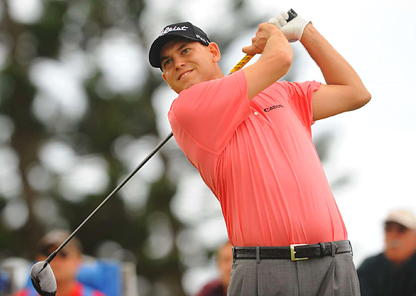 Bill Haas is in fourth place after the opening round after shooting a 68.