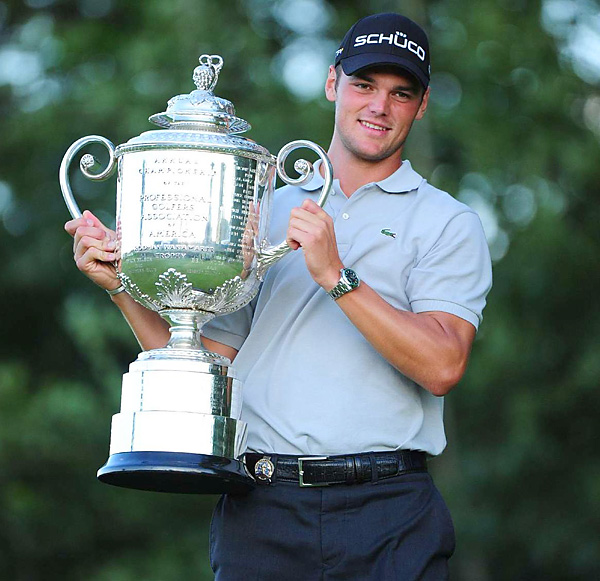 First Ryder Cup appearance.See Kaymer's visit to Golf.com