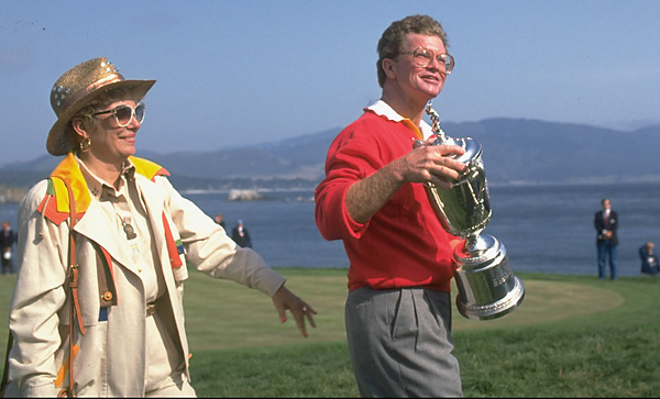 Kite was the Tour's leading money winner in 1981 and 1989. He and his wife celebrated Tom's only major title at the 1992 U.S. Open. The couple has one daughter and two sons.