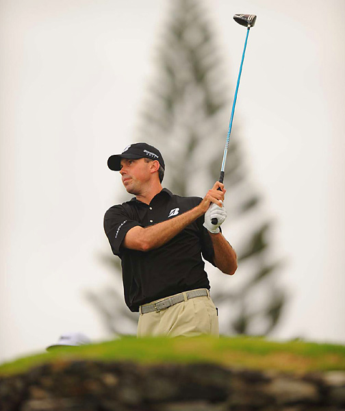Matt Kuchar made two birdies on the back nine to finish with a 69.