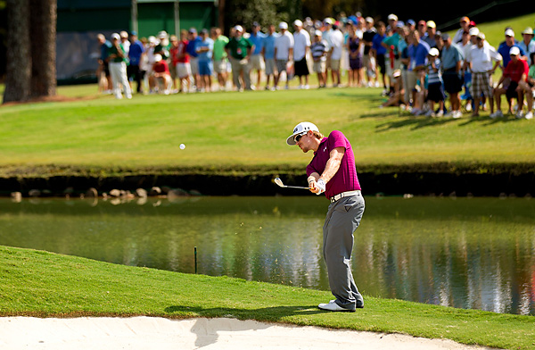 Hunter Mahan shot a 71, then fell to Haas on the third playoff hole.