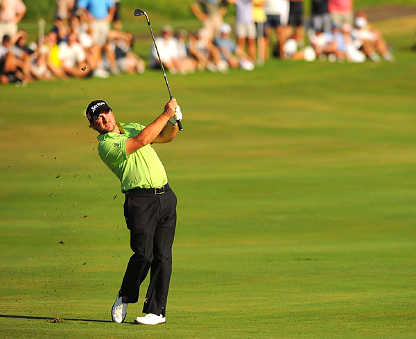 McDowell fired a 62 on Sunday to tie the course record and finish alone in third place.