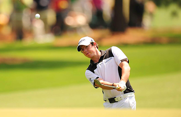 Rory McIlroy continued his strong play, firing a 3-under 69 for a two-shot lead.